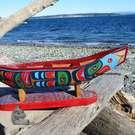 Eagle cedar canoe,  by Jonathan Jacobson