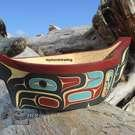 Eagle Canoe, Feast Bowl by Kevin Cranmer
