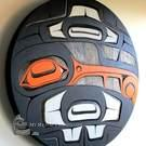 Oystercatcher wall art by Nusmata, Jarrod Saunders Nuxalk Nation