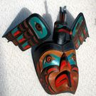 Kingfisher Mask by Oscar (Ozzi) Matilpi