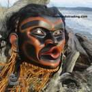 Tsoonakwa, Wild Woman Mask by Randy Stiglitz
