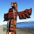 Thunderbird Totem Pole by Rick Thomas