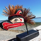Thunderbird Dance Rattle by Sarah Robertson