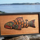 Kwakuilth Salmon by Tom Hunt