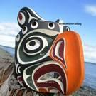 Thunderbird Mask, Kwakiulth First Nation, Artist unknown